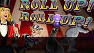 OLDIE BUT GOODIE! Aristocrat Rollup Roll up BIG WIN Free Spin bonus Max bet