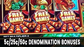• Mighty Cash • Bonuses at 5c/25c/50c Denomination!