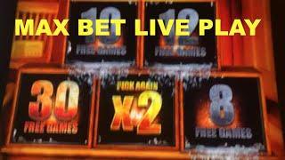 BIG WIN!!! LIVE PLAY and Bonuses on Walking Dead 2 Slot Machine