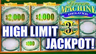 INSANE HIGH LIMIT SLOT PLAY ⋆ Slots ⋆ GREEN MACHINE DELUXE JACKPOT ⋆ Slots ⋆