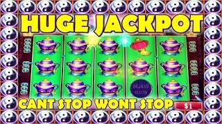 • HUGE JACKPOT • CAN'T STOP WON'T STOP •️  HUGE WINS ON CHINA SHORES HIGH LIMIT