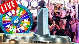 HUGE GROUP PULL WIN$ •️ Wheel of Fortune • Slot Fest East | The Big Jackpot
