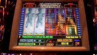 Star Wars Back to Back  Cloud Bonus Wins at Sands Casino