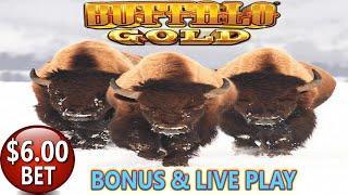 • LIVE PLAY AND BONUSES • BUFFALO GOLD • CASH ILLUSIONS • PHARAOHS FORTUNE HIGH LIMIT SLOT MACHINE