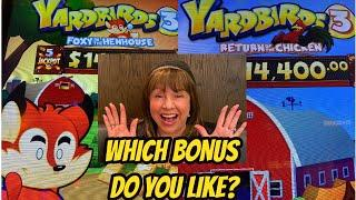NEW! YARDBIRDS 3-WHICH VERSION OF THE GAME DO YOU LIKE?