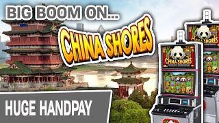 ⋆ Slots ⋆ HUGE HANDPAY JACKPOT Playing China Shores Slots ⋆ Slots ⋆ Mammoth Power Pays Me Too!