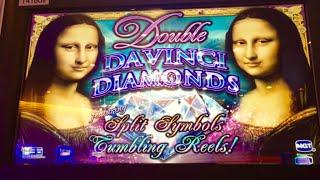 Double Davinci Diamonds slot- High limit Bonus!