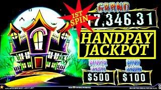 High Limit- Lock It Link Cats, Hats & More Bats 1st SPIN Handpay Jackpot! High Limit PREMIERE STREAM