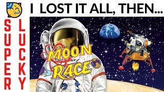 NOT ENOUGH $$$ FOR MY LAST BET!  WAGER SAVER TO THE RESCUE on  LIGHTNING CASH MOON RACE SLOT POKIE