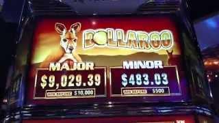 AINSWORTH DOLAROO Free Spin bonus $5 bet Dollar Denom BIG WIN