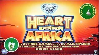• Heart of Africa slot machine, Big Win Bonus