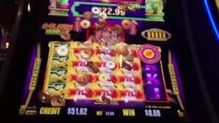 Gold Stacks Golden Zodiac Slot Machine Free Spin Bonus New York Casino Las Vegas