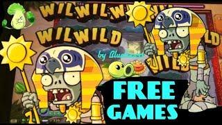 PLANTS vs ZOMBIES 3D slot machine MAX BET BONUS WIN!