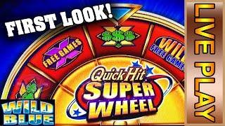 SG/Bally - QUICK HIT SUPER WHEEL - *FIRST LOOK!* - BONUSES & NICE WINS! **LIVE PLAY**