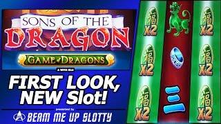Sons of the Dragon: Game of Dragons Slot, First Look, Free Spins Bonus in New WMS game