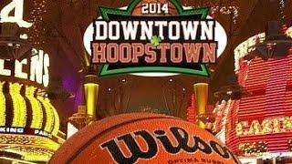Downtown Hoopstown at the Fremont Street Experience