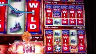 EPIC MONOPOLY | WMS - 3 WILD REELS TRANSFER - Slot Machine Bonus Win