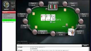"PokerSchoolOnline Live Training Video:""Limpers Paradise #1  2NL Live"" (17/01/2012) ahar010"