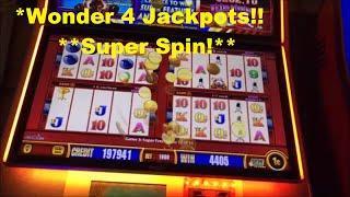 Wonder 4 Jackpots Wicked Winnings!!