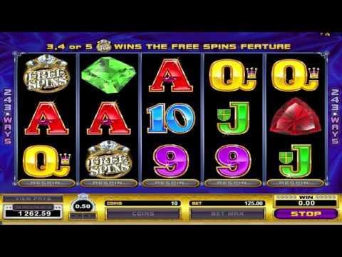 Free Reel Gems slot machine by Microgaming gameplay ★ SlotsUp
