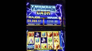 Ainsworth High Limit Thunder Cash slot machine Progressive jackpot winner