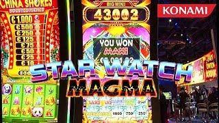 Star Watch Magma Slot Machine from Konami