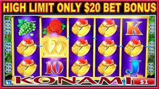 • HIGH LIMIT SLOTS ONLY $20 BET • IGT & KONAMI SLOTS MACHINE FREE SPINS & LINE HITS •