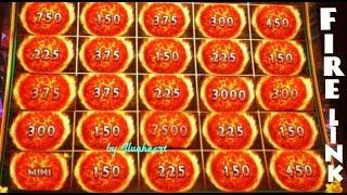 • 25 FIRE BALLS WON! • ULTIMATE FIRE LINK slot machine BONUS WINS!