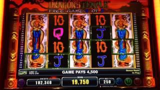 Dragons Temple Bonus At Max Bet