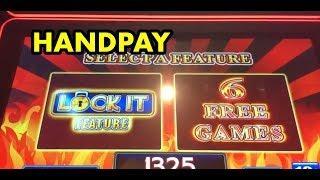 HANDPAY: Lock it Link Loteria and Eureka High Limit Bonuses