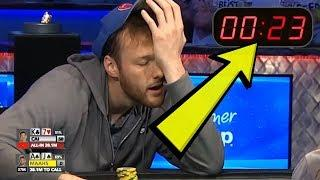 30 Seconds To Make $10,000,000 Decision (2019 WSOP Main Event Final Table Poker)