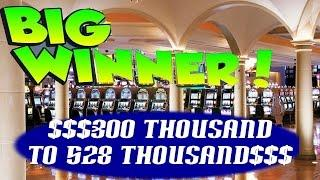 •Great Net 300Thousand to 528Thousand Casino Video Slot Machine Jackpot Handpay Bonus Penguin Pays •