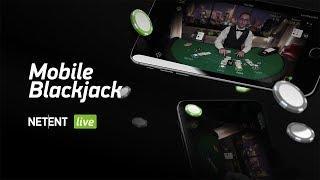 NetEnt LIVE - Mobile Standard Blackjack