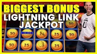•️BIGGEST BONUS @ •Lightning Link Jackpot•HIGH LIMIT ROOM Money Storm•️San Manuel Casino • BCSlots