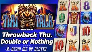 Tiki Talk Slot - TBT Live Play, Double or Nothing