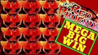 MEGA BIG WIN•! SUPER RED PHOENIX Slot Machine Max Bet Bonuses HUGE WIN | RARE WINS |Premiere STREAM