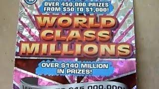 $30 Lottery Ticket - World Class Millions