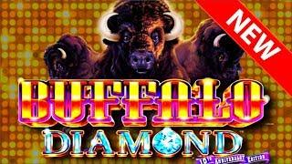 • I GOT THE BIGGEST ONE! • Buffalo Diamond SLOT MACHINE W/ SDGuy1234