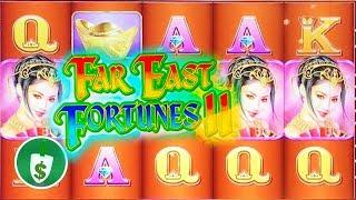Far East Fortunes II slot machine, 2 sessions, bonus