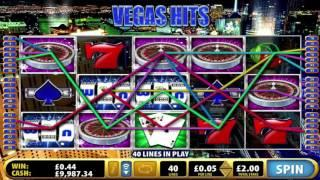 Free Vegas Hits Slot by Bally Video Preview | HEX