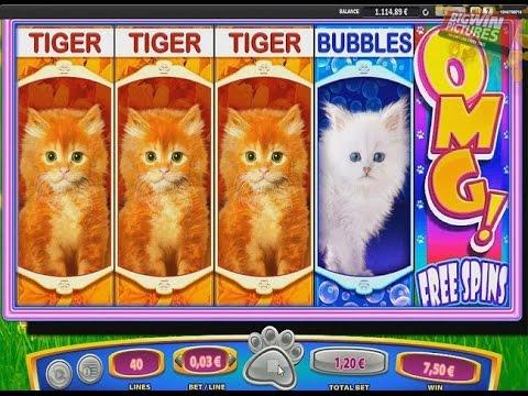 free omg kittens slot game