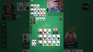 Open Face Chinese Poker (OFC) on URounders Club ID: 507187