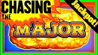 •Jackpot Hand Pay! • I LAND THE MAJOR JACKPOT! • Eureka Reel Blast Slot Machine