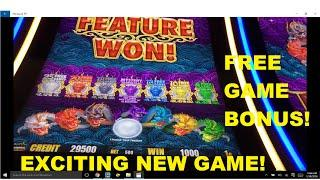 """NEW Game """" 5 Dragons Gold"""" Bacon Wrapped Titties Bonus Win"""