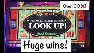 Gold Class Cash Express Slot Machine Huge Win!