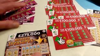 "NEW Just Out   HIDDEN TREASURES Scratchcard..and We Continue""Us..Vs..You's..Game"