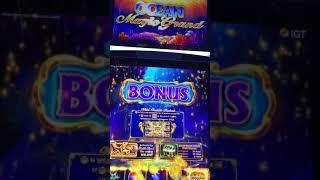 Ocean Magic Grand Slot Big Win!