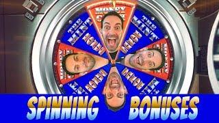 • Spinning Bonuses • NEW GAME - SPINNING • SATURDAYS • Slot Machine Pokies