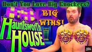 I FINALLY CONQUERED THE BONUS! HAUNTSWORTH House Slot Machine BIG WINS AND BONUSES With SDGuy!