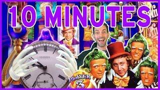 • Willy Wonka • DREAM FACTORY • • 10 Minutes of Play • Slot Machine Pokies w Brian Christopher